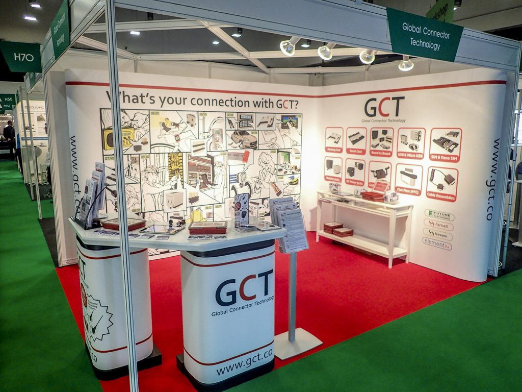Pop Up Stands - Credit: GCT Europe