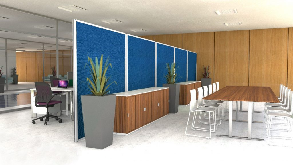 Acoustic Screens - Office Design