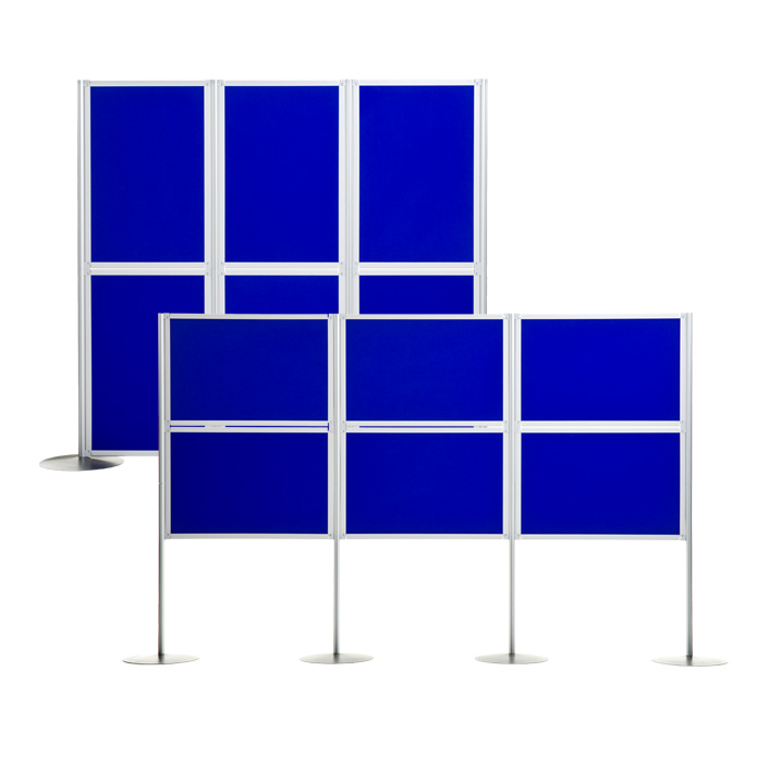 6 Panel Universal Display Boards are ideal for creating a pop-up shop