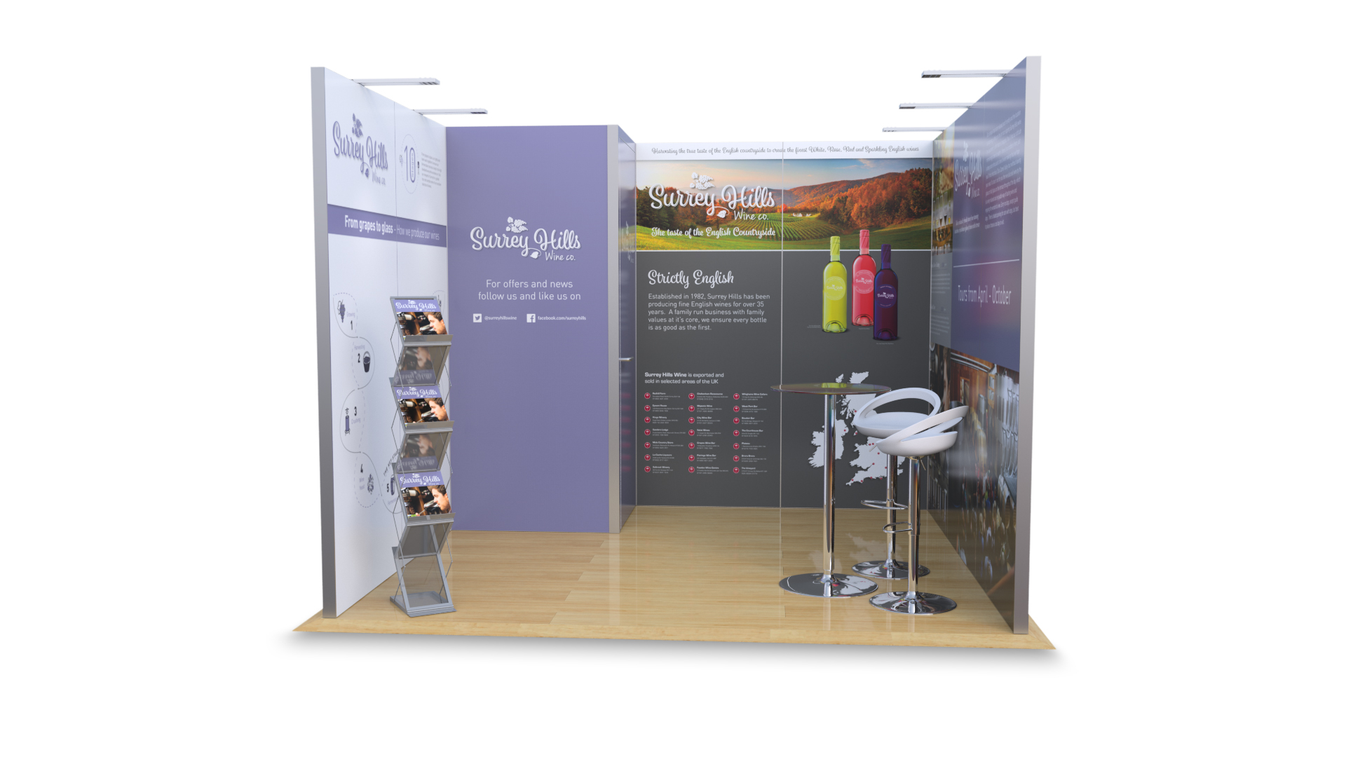 Hire An Exhibition Stand : Hire exhibition stands q a go displays