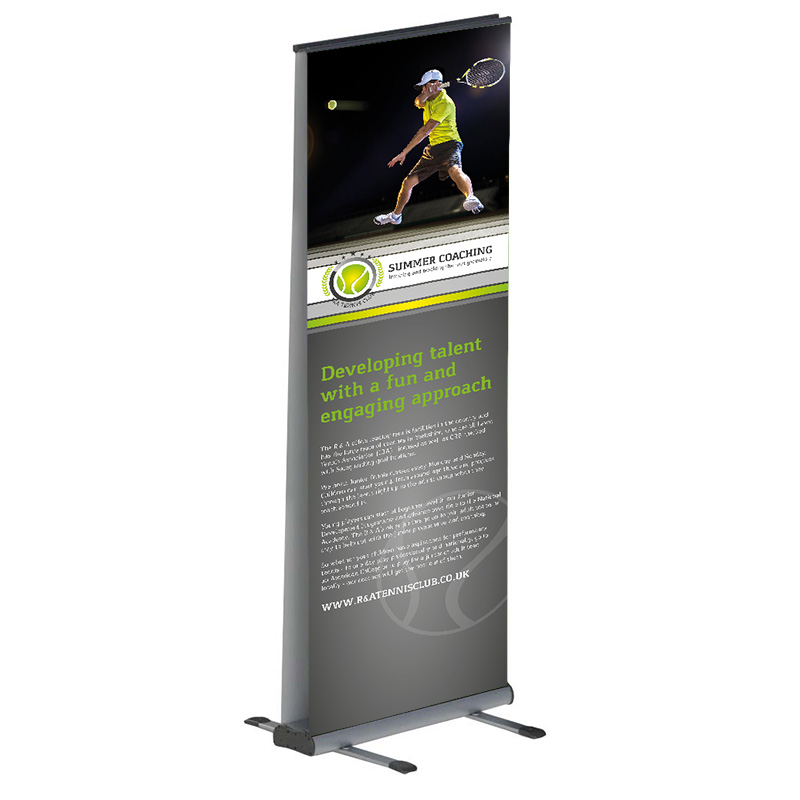 Double Sided Outdoor Roller Banner