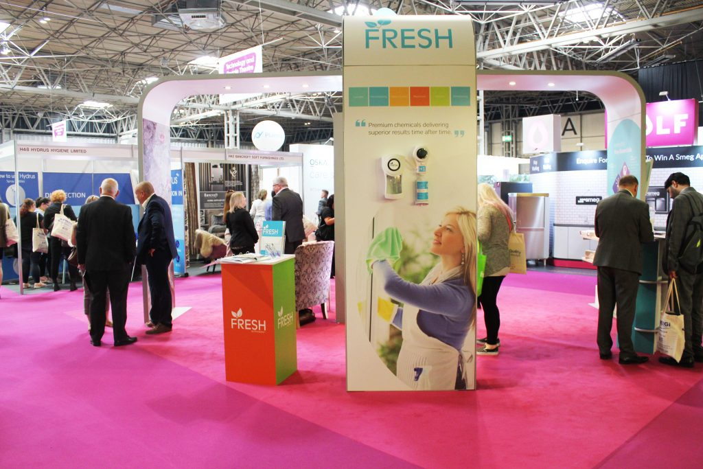 Bespoke hire stand for tradeshows