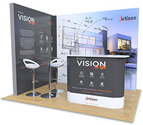 2m x 3m Exhibition Stands