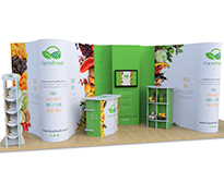 2m x 6m Exhibition Stands