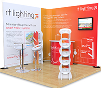 3m x 3m Exhibition Stands