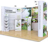 3m x 4m Exhibition Stands
