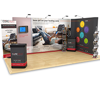 3m x 5m Exhibition Stands