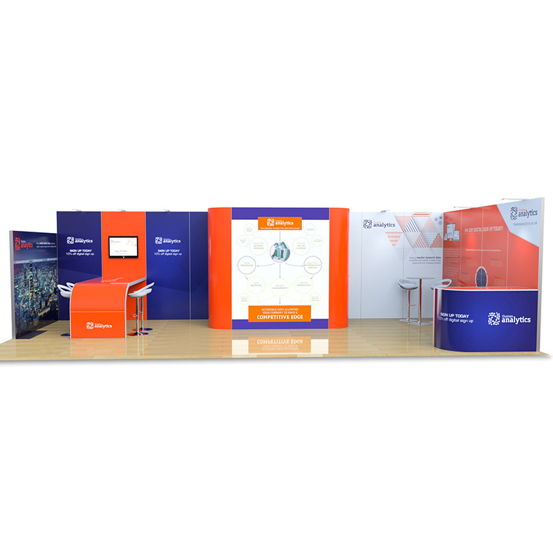 4m x 9m Exhibition Stands