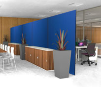 In-Stock Office Partitions