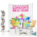 Streamline Exhibition 2 Panel Pop Up Display Stand