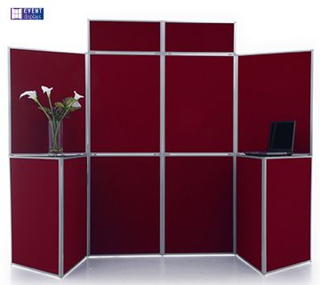 Event 10 Panel Display with Plinths