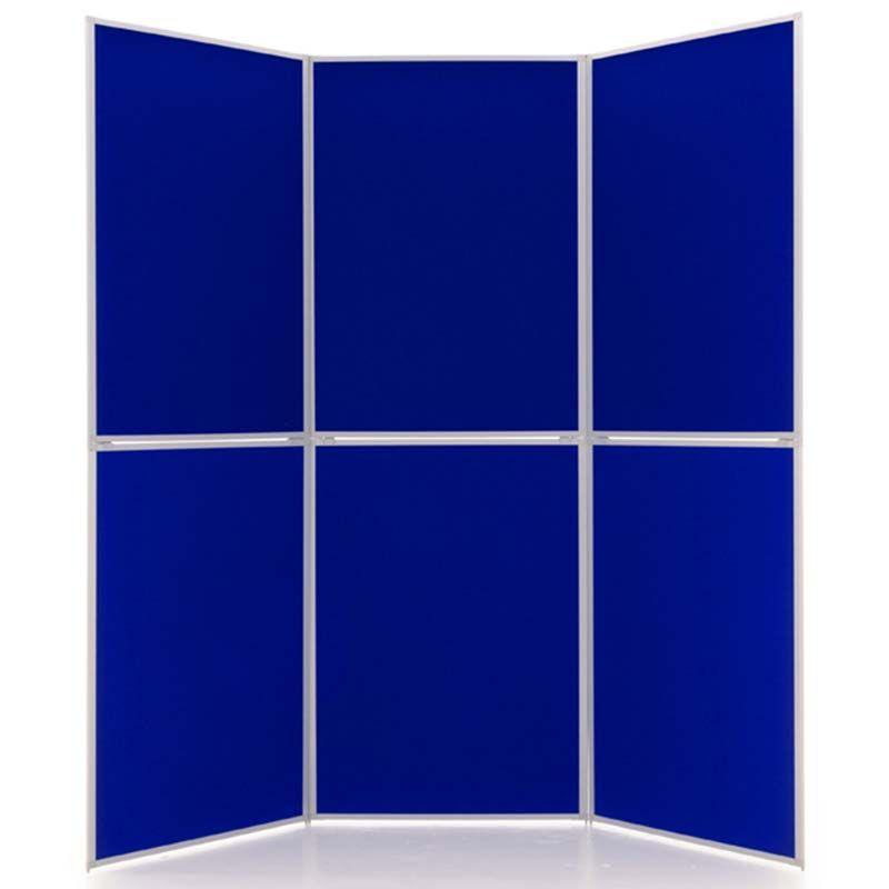 Event 6 Panel Displays in Electric Blue