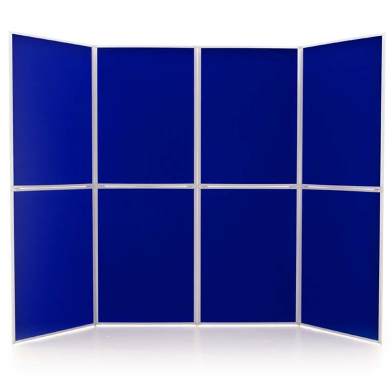 Event 8 Panel Display in Electric Blue