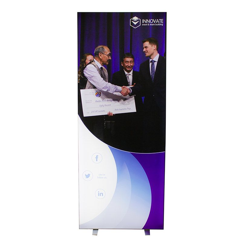 Replacement fabric panels available for the LED light boxes.