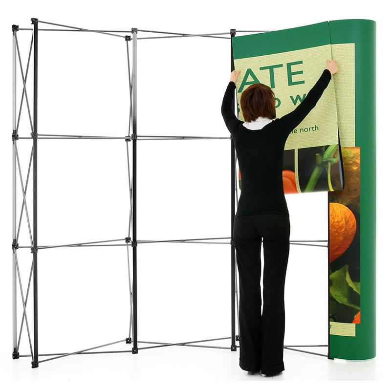 Pop up stand replacement graphic panels