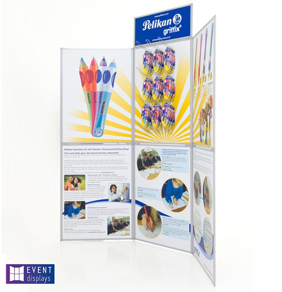 Printed Event Folding Display Board side view