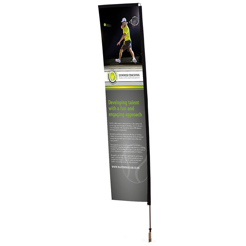Rectangle banner flag, ideal for outdoor use at any events