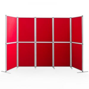 PanelFix 10 Panel Display Boards, complete with poles and stabilising feet