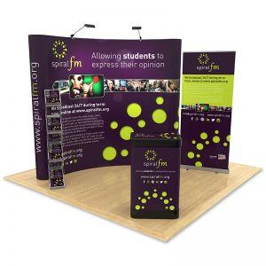 2m x 3m Exhibition Stand Design
