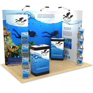 3m x 2m Exhibition Stand Design