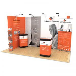 4m x 2m Exhibition Stand Design