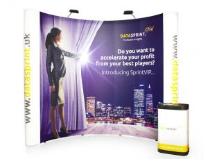 Premier 4x3 Jumbo Pop up Display Stand