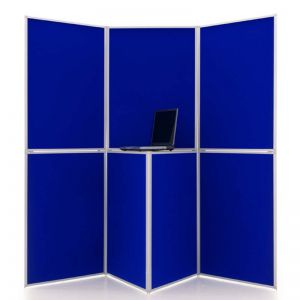 Event 7 Panel Display in Blue