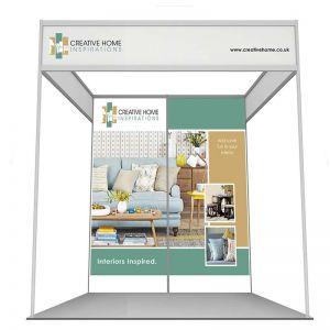 2m x 2m shell scheme graphic panels