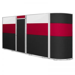 Concept Screens can be linked together to create office pods