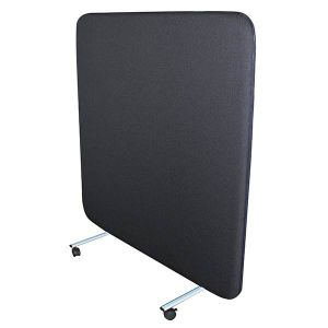 Delta acoustic portable office screen