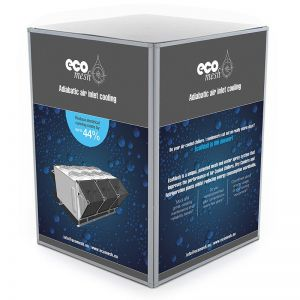 Event Square 933mm high x 687mm wide Display Plinth
