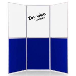 Dry Wipe 6 Panel Display Boards