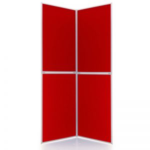 Event 4 panel folding display board