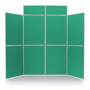 Event+ 8 Panel Display Board in Teal with header panels