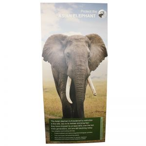 4.5mm cardboard banner, recyclable