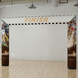 Custom branded inflatable exhibition arch