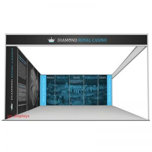 L Shaped 5m x 5m Shell Scheme display
