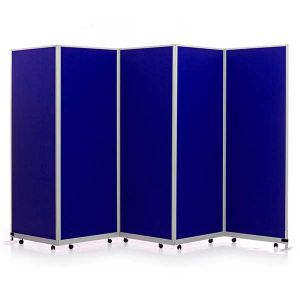 5 Panel Mobi Folding Portable Partitions
