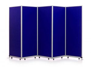 5 Panel Mobi Folding Portable Partitions