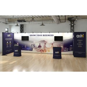 4m x 8m Multi-Fix Exhibition Stand