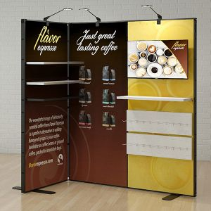 2m x 2m L Shape Multi-Fix Exhibition Stand