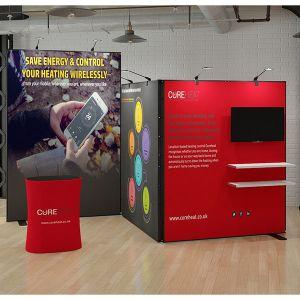 2m x 4m Z Shape Multi-Fix Exhibition Stand