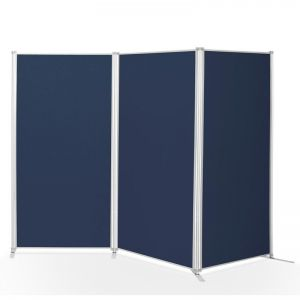 3 Large Display Board PanelFix kit. Upholstered with loop nylon fabric