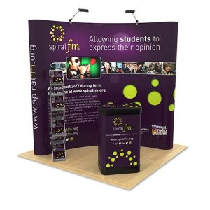 Exhibition Stand bundle suitable for a 2m x 2m stand space