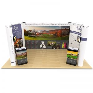 3m x 5m Pop Up Exhibition Stand