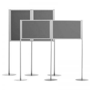 Universal A0 Double Panel Display