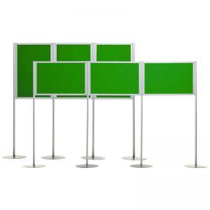 Universal A1 Triple Panel Display