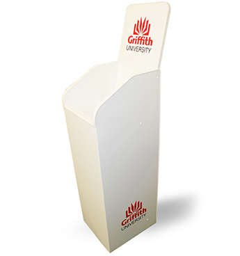 Aspen brochure dispenser, ideal for Universities, Schools and Colleges