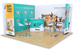 Exhibition Stands, available for all stand sizes in a variety of finishes