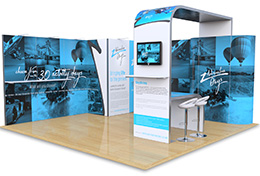 Exhibition Stands for Hire, from our exclusive Pro Hire range